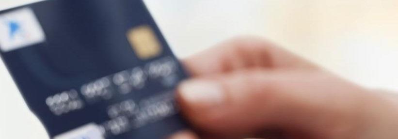 Carte bancaire avec empreinte digitale