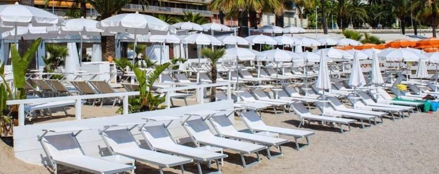 Les plages privées de la Riviera italienne