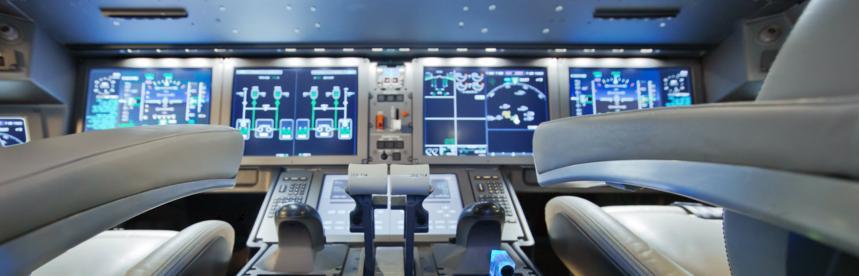 La cabine de pilotage du nouveau MC-21 russe